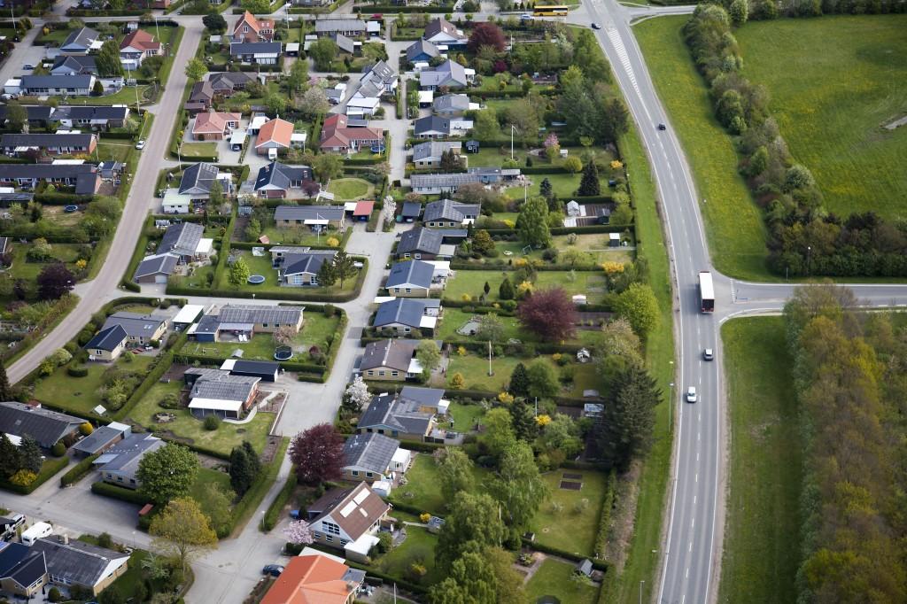 Luftfoto Rosmarinvej Viborg 4. maj 2011