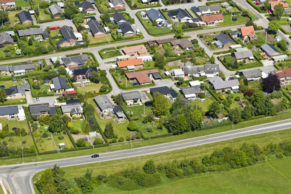 Luftfoto Rosmarinvej Viborg 23. maj 2012