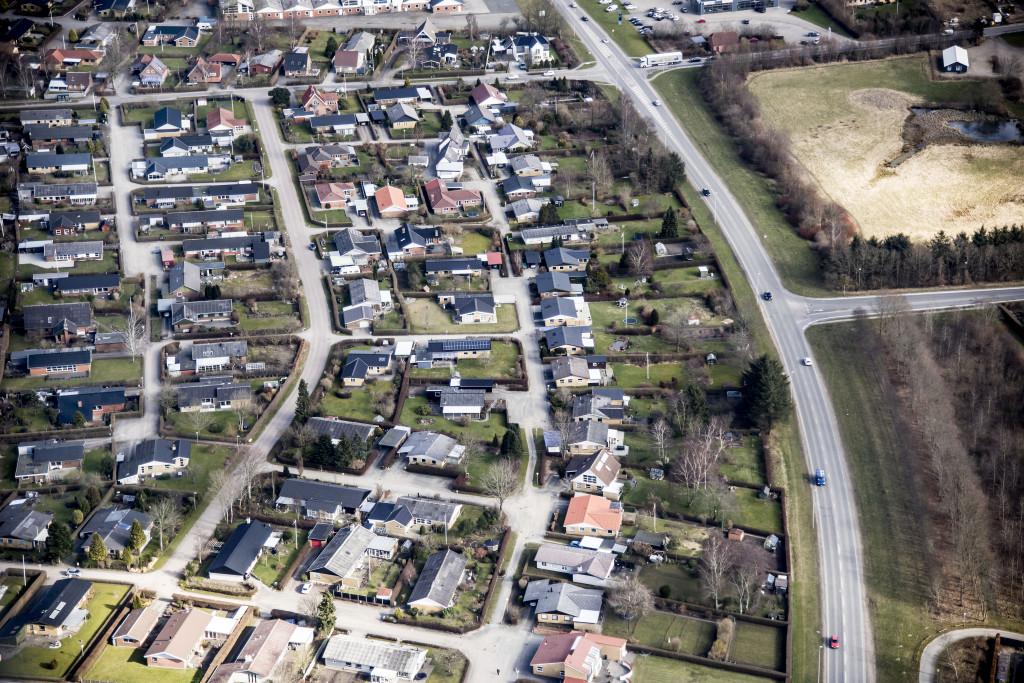 Luftfoto Rosmarinvej Viborg